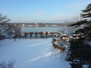 The Wannsee in the Snow